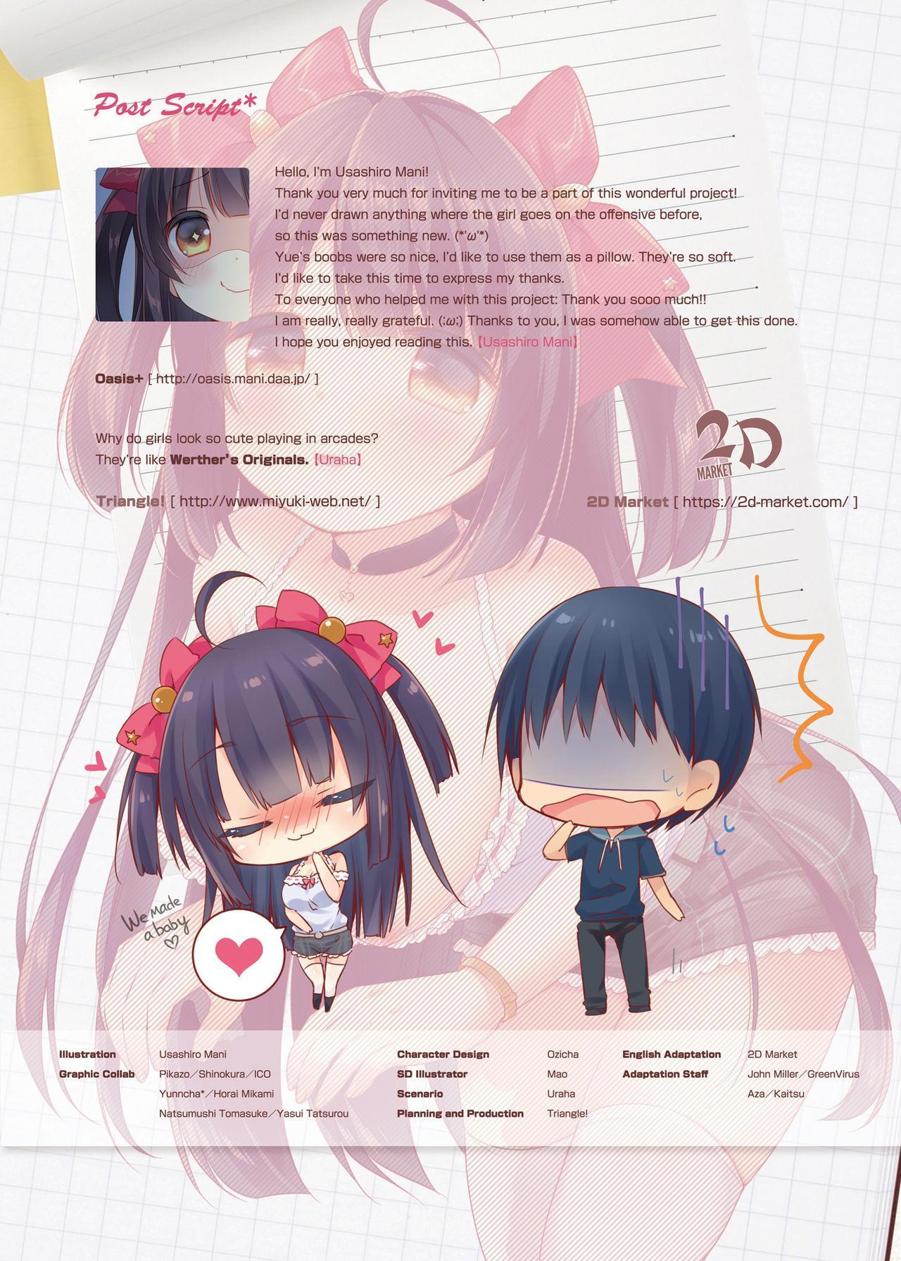 [Triangle! (Usashiro Mani)] GaCen Hime to DT Otoko no Ichaicha Kozukuri Love Sex   Arcade Princess And a Virgin Boy Who Make Out And Have Lovey-Dovey Baby-Making Sex [English] [2d-market.com] [Decensored] [Digital] 18