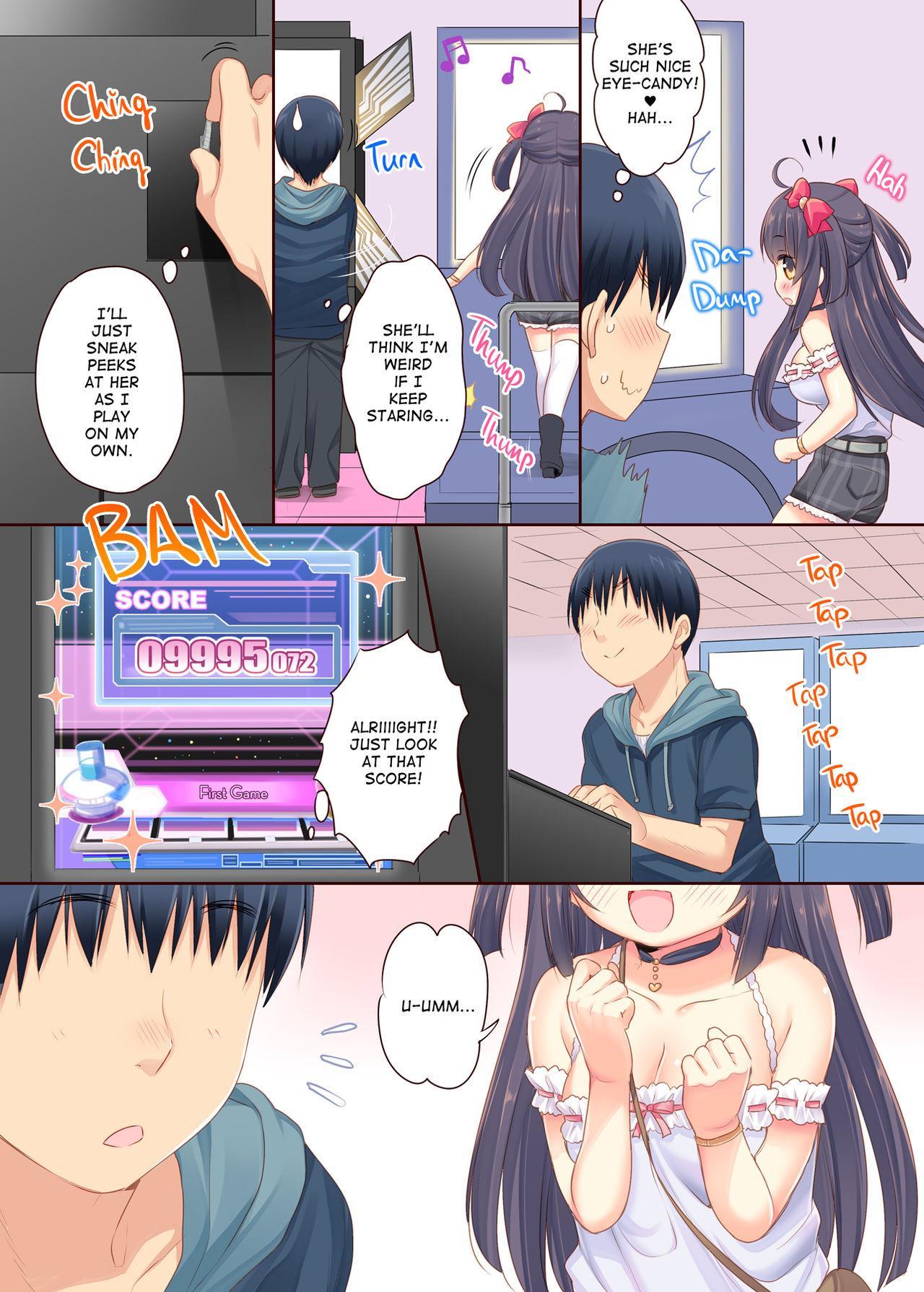 [Triangle! (Usashiro Mani)] GaCen Hime to DT Otoko no Ichaicha Kozukuri Love Sex   Arcade Princess And a Virgin Boy Who Make Out And Have Lovey-Dovey Baby-Making Sex [English] [2d-market.com] [Decensored] [Digital] 2