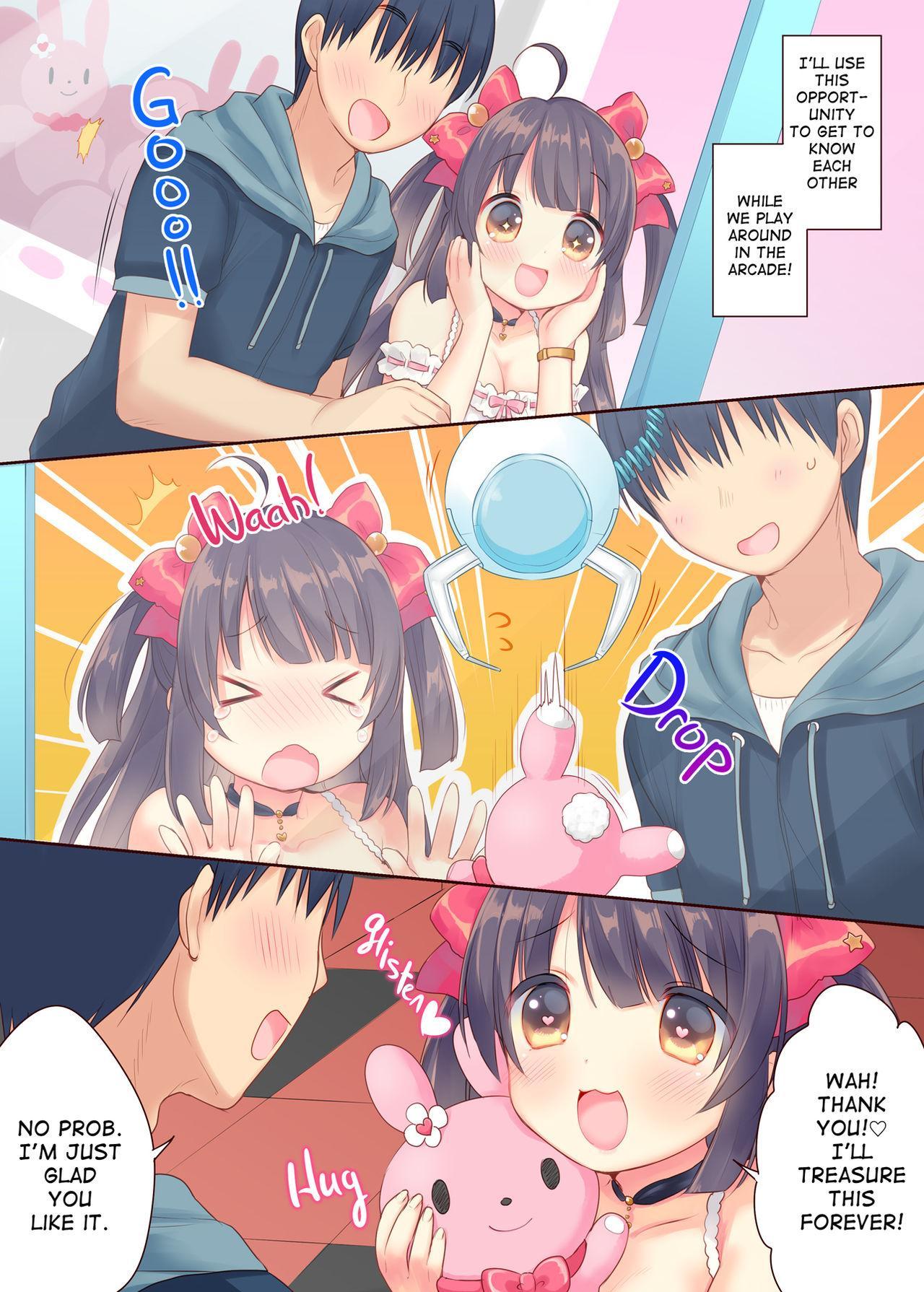 [Triangle! (Usashiro Mani)] GaCen Hime to DT Otoko no Ichaicha Kozukuri Love Sex   Arcade Princess And a Virgin Boy Who Make Out And Have Lovey-Dovey Baby-Making Sex [English] [2d-market.com] [Decensored] [Digital] 5