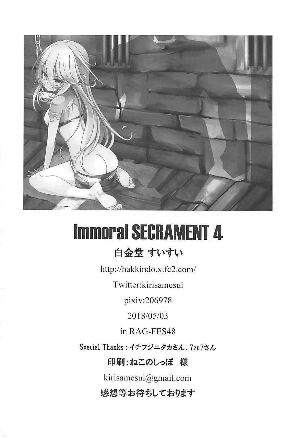 Immoral SECRAMENT 4 16