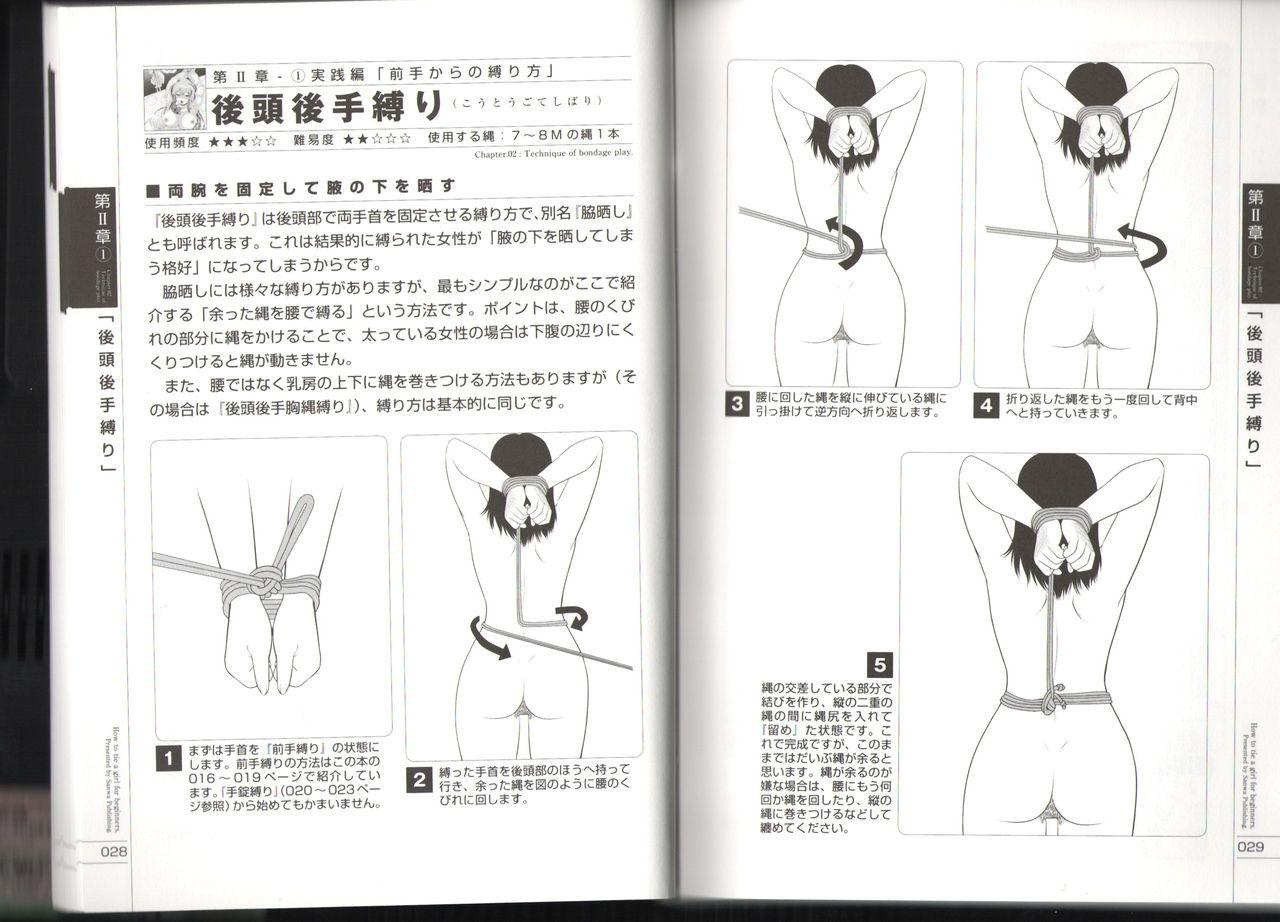 Now you can do it! Illustrated Tied How to Manual 14