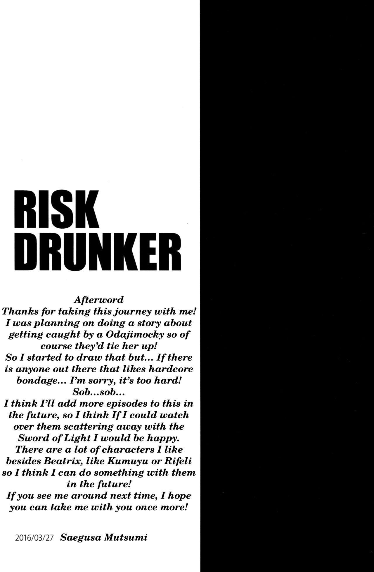 RISK DRUNKER 20