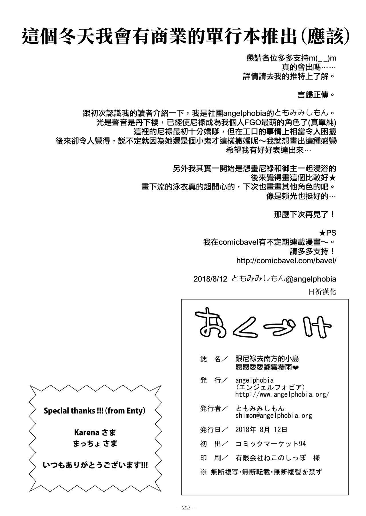 Futari dake no Minami no Shima de Nero to Icha Pako 20