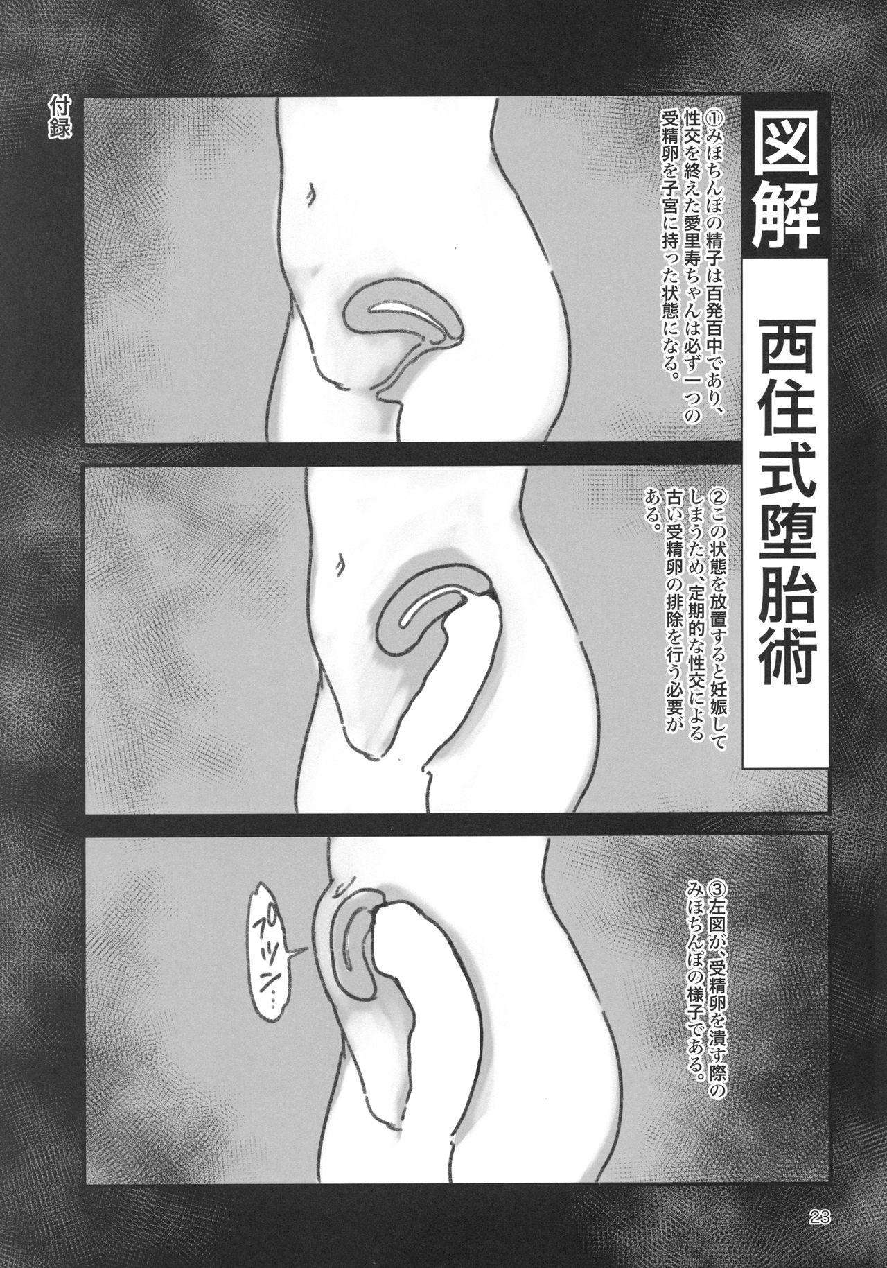 Chinpo Yakuza Miporin Boko Maso Arisu-chan Hen 21