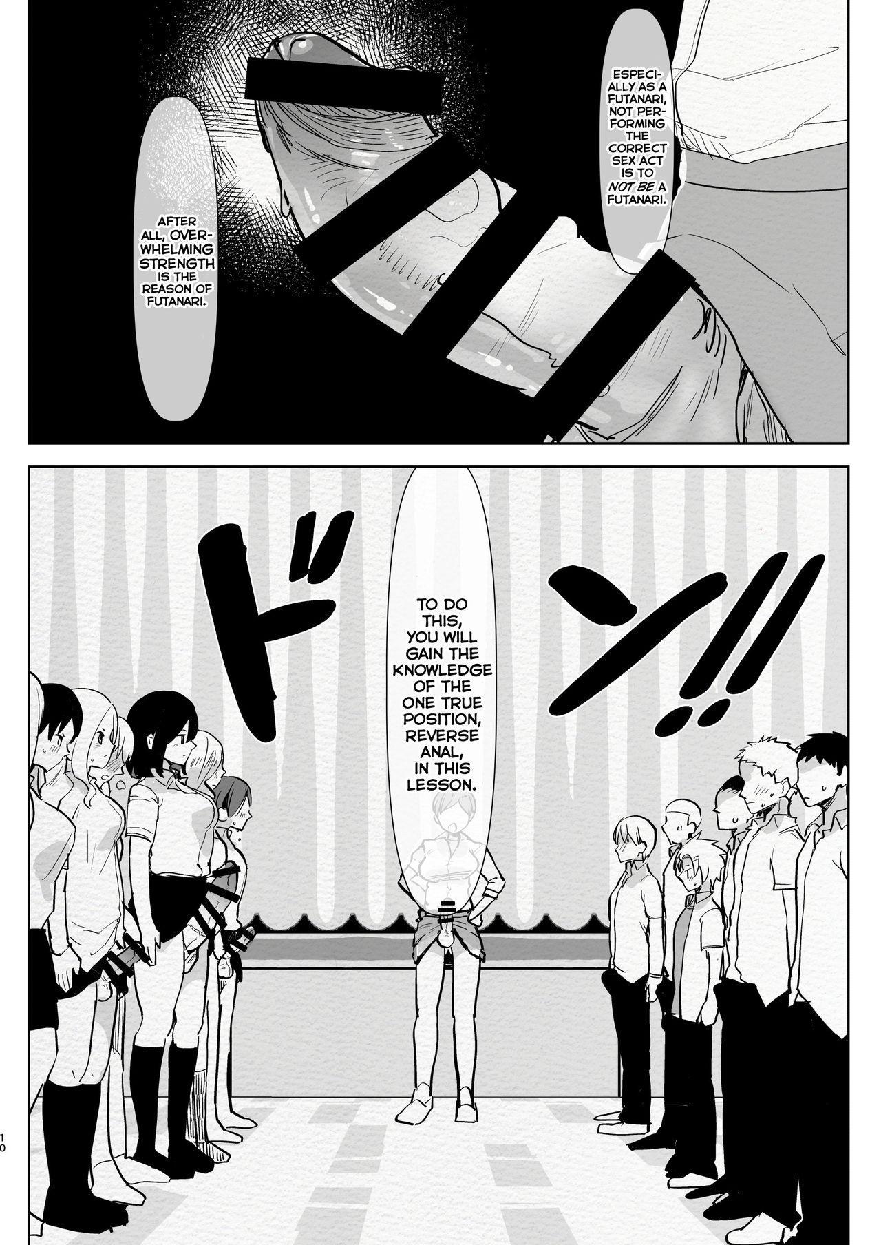 Futanari Osananajimi to Ore to Hajimete no Gyaku Anal Kagai Jugyou | Me and My Futanari Childhood Friend's First Extracurricular Lesson in Reverse Anal 9