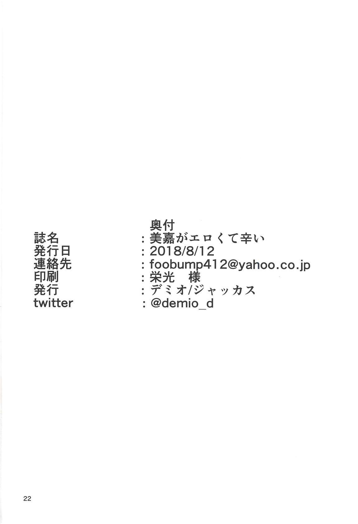 Mika ga Erokute Tsurai 20