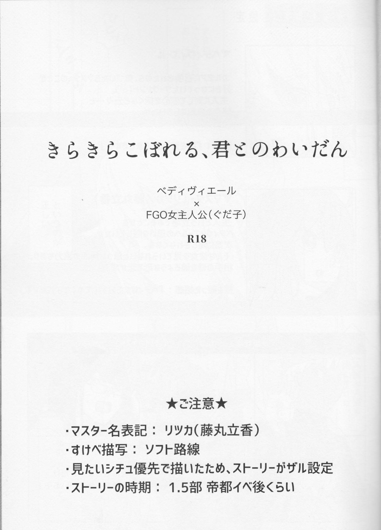 Kirakira Koboreru, Kimi to no Waidan 2