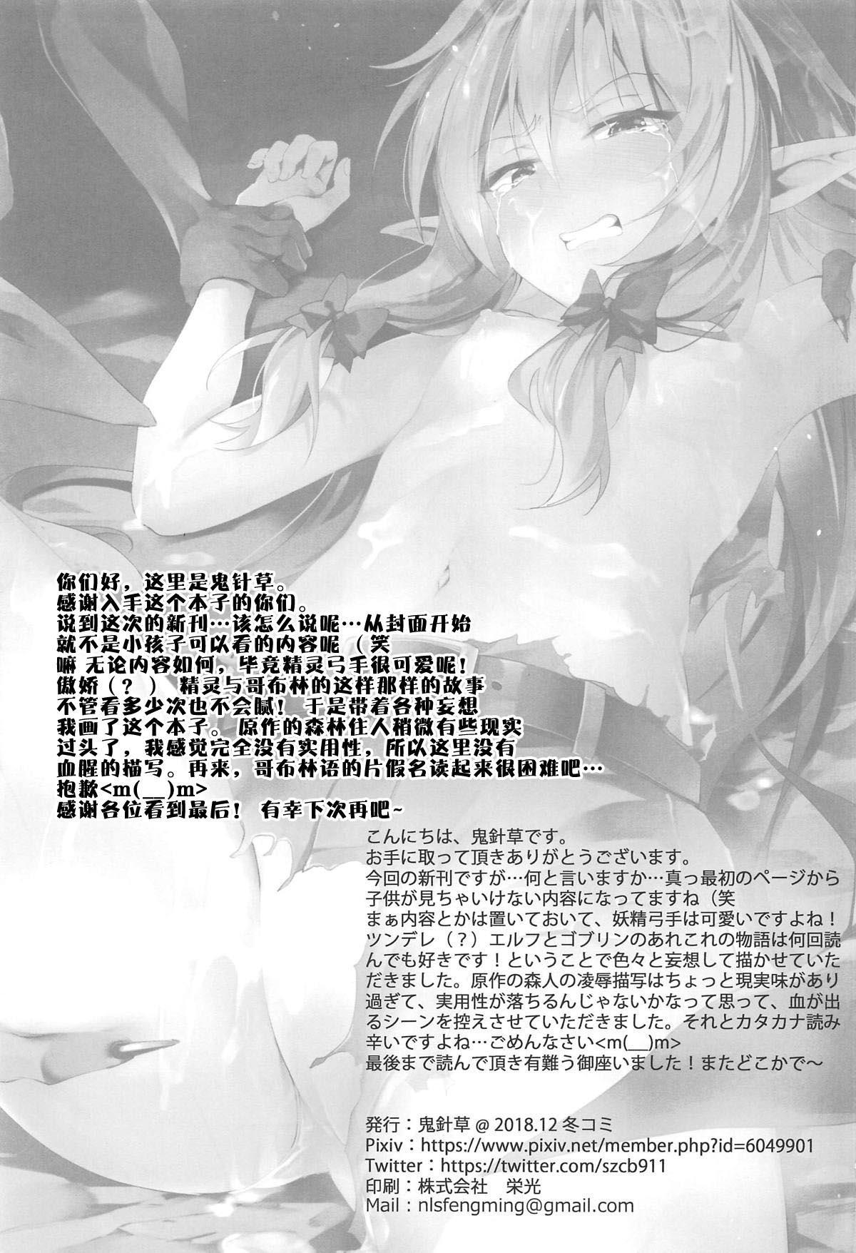 Moshi Onna Seirei ga Goblin ni Tsukamattara... 24