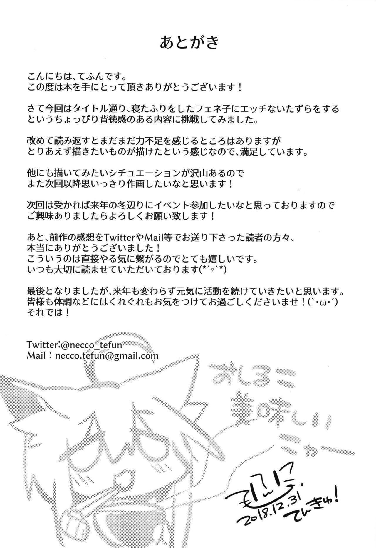 Neterufuri Fennec Musume ni Itazura Suru Hon. 17