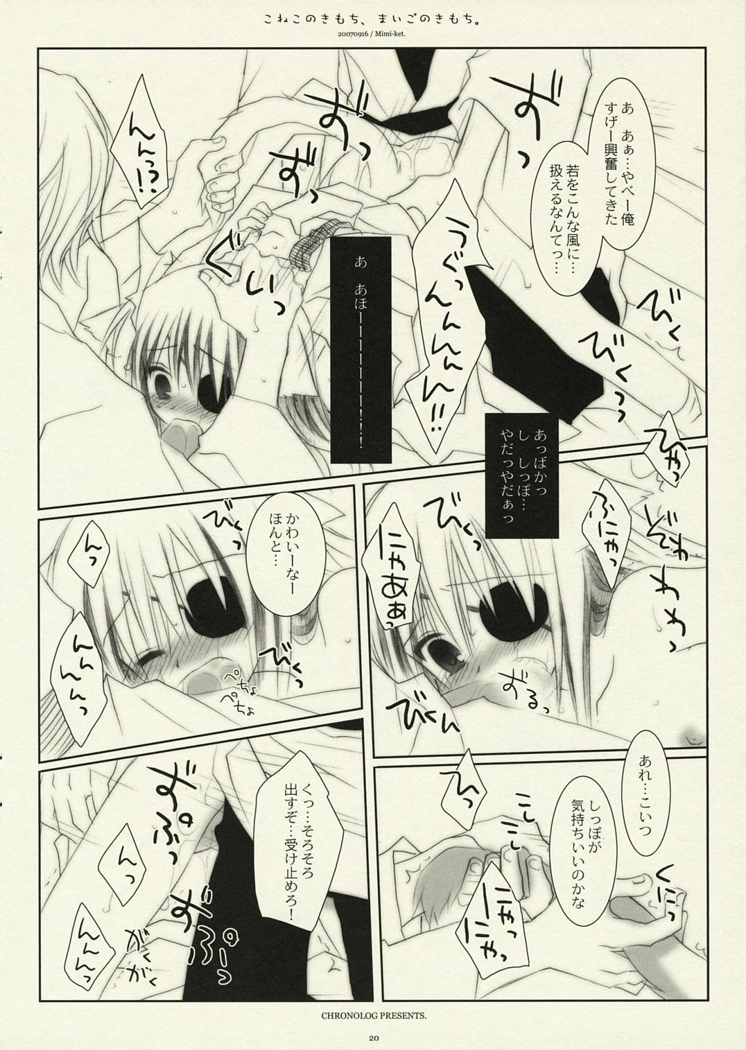 Koneko no Kimochi, Maigo no Kimochi. 18