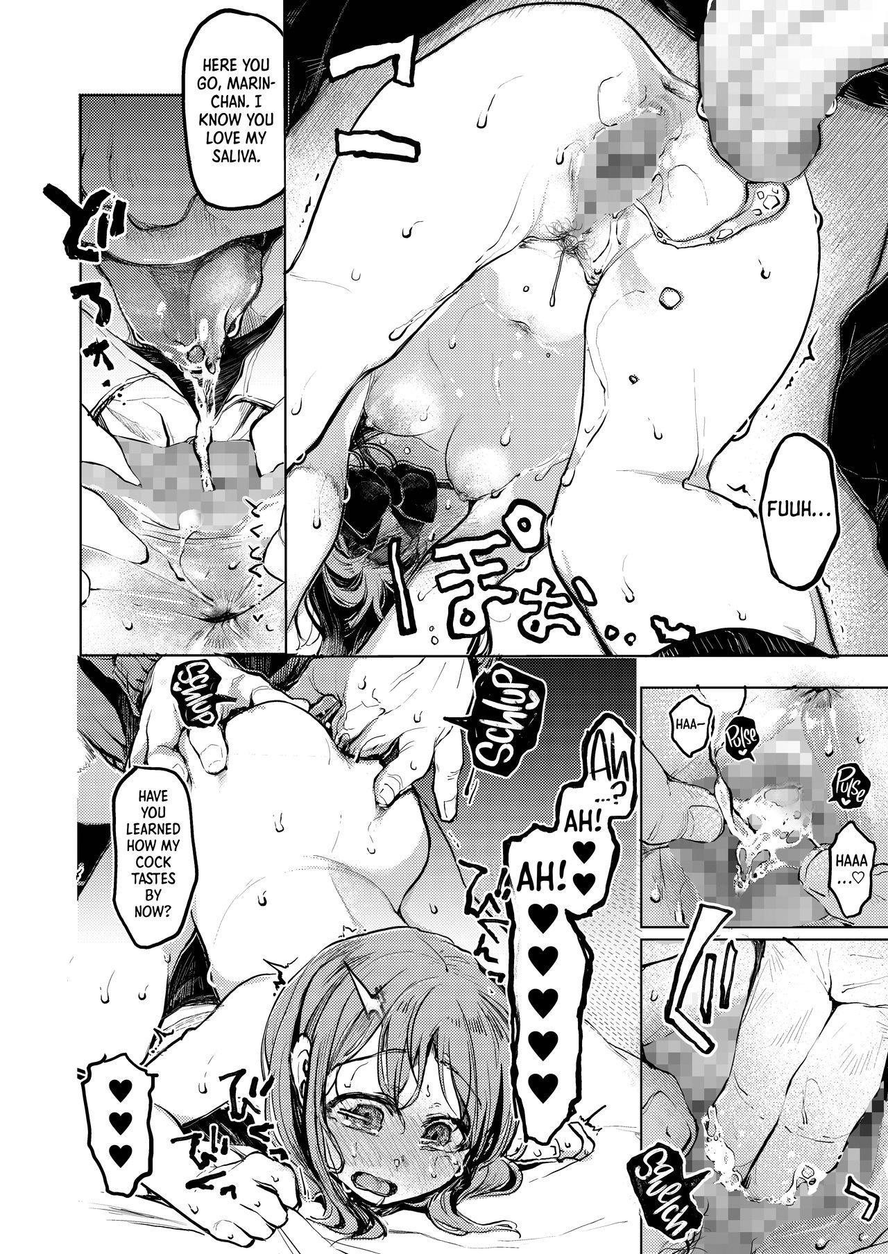 [Hoshi ni Kaeru! (Tarazoo)] Oji-san to. ~Watanabe Marin no Baai~   With an Old Guy. ~The Case of Watanabe Marin~ [English] =LWB= [Digital] 18