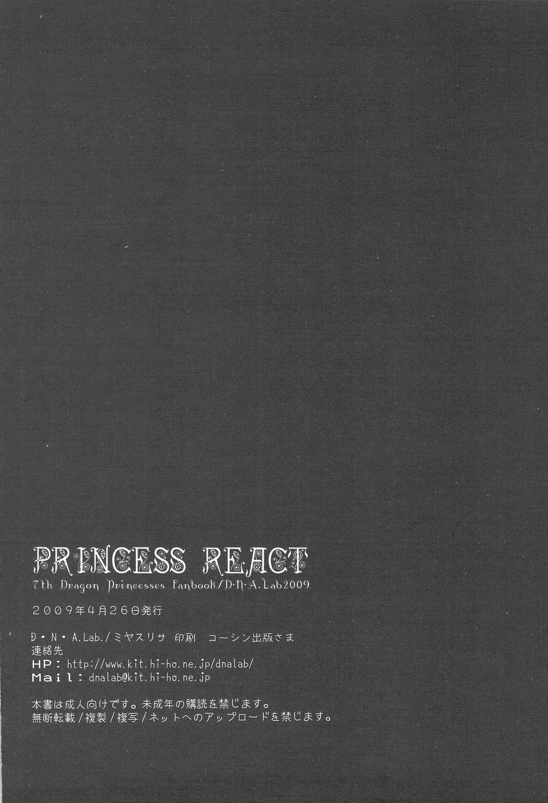 PRINCESS REACT 28