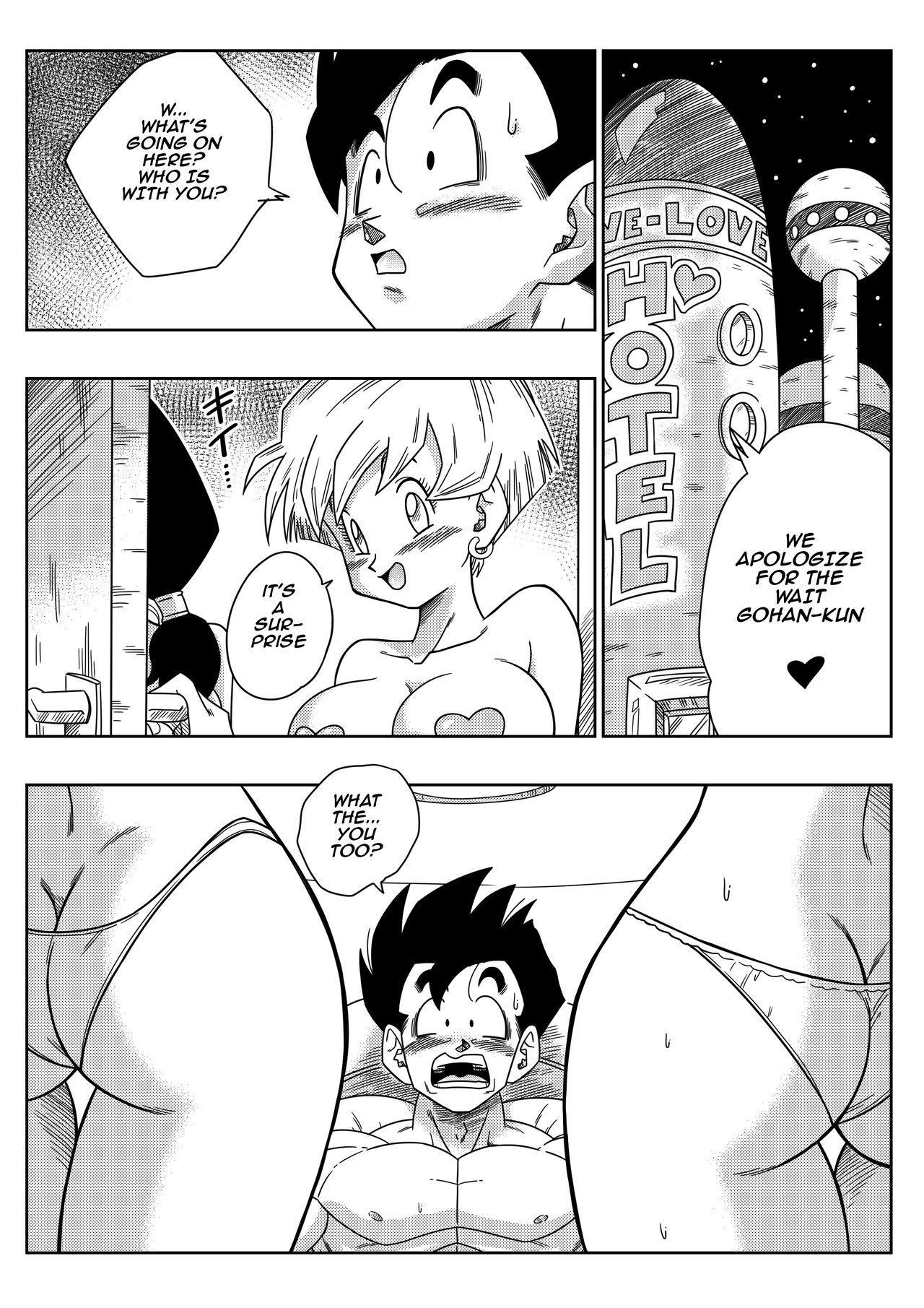 [Yamamoto] LOVE TRIANGLE Z PART 2 - Takusan Ecchi Shichaou! | LOVE TRIANGLE Z PART 2 - Let's Have Lots of Sex! (Dragon Ball Z) [English] 3