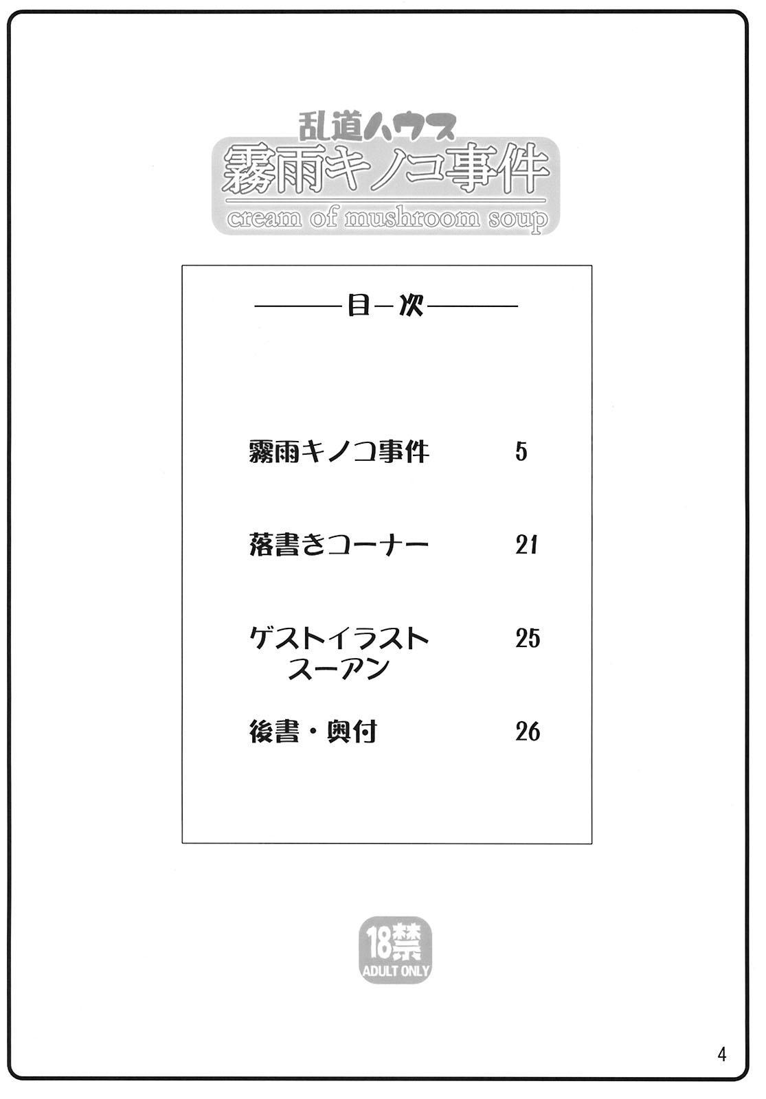Kirisame Kinoko Jiken - cream of mushroom soup 3