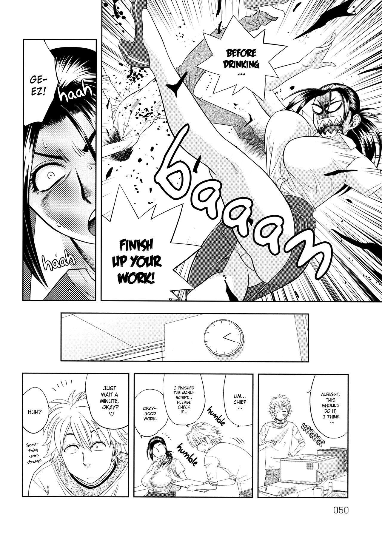 [Tatsunami Youtoku, Yamazaki Masato] Bijin Henshuu-chou no Himitsu | Beautiful Editor-in-Chief's Secret Ch. 1-5 [English] [Forbiddenfetish77, Red Vodka, Crystalium] [Decensored] 49