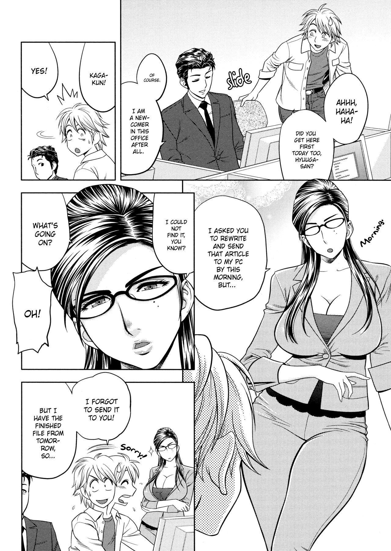 [Tatsunami Youtoku, Yamazaki Masato] Bijin Henshuu-chou no Himitsu | Beautiful Editor-in-Chief's Secret Ch. 1-5 [English] [Forbiddenfetish77, Red Vodka, Crystalium] [Decensored] 69