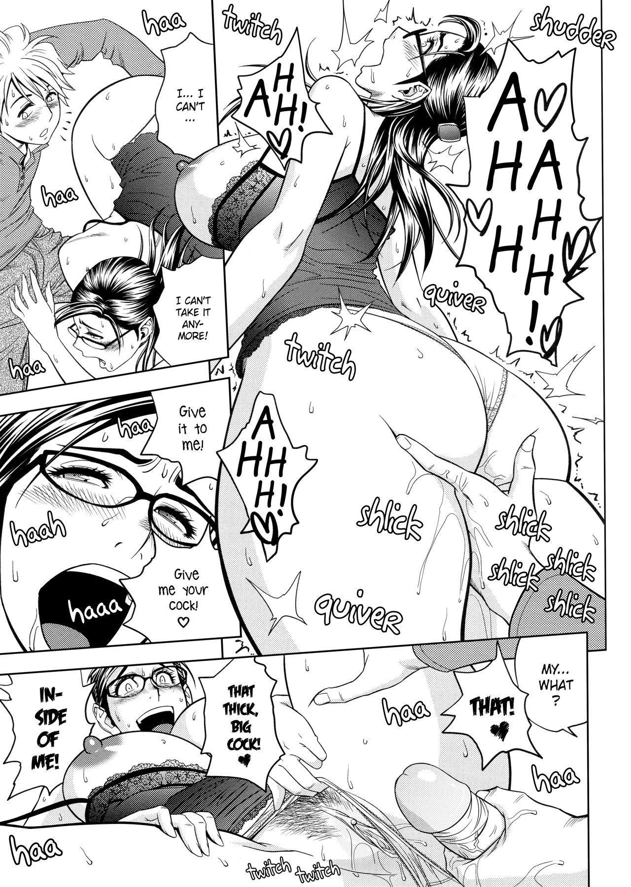 [Tatsunami Youtoku, Yamazaki Masato] Bijin Henshuu-chou no Himitsu | Beautiful Editor-in-Chief's Secret Ch. 1-5 [English] [Forbiddenfetish77, Red Vodka, Crystalium] [Decensored] 78