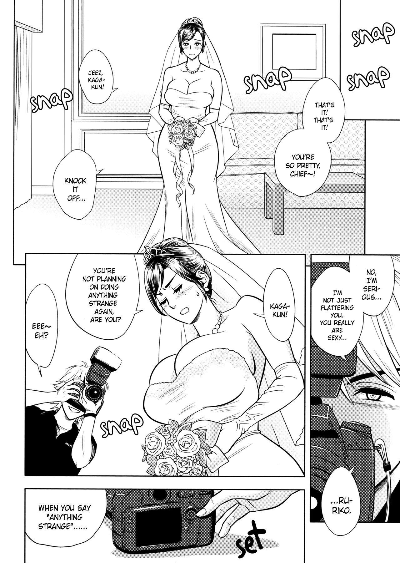[Tatsunami Youtoku, Yamazaki Masato] Bijin Henshuu-chou no Himitsu | Beautiful Editor-in-Chief's Secret Ch. 1-5 [English] [Forbiddenfetish77, Red Vodka, Crystalium] [Decensored] 87