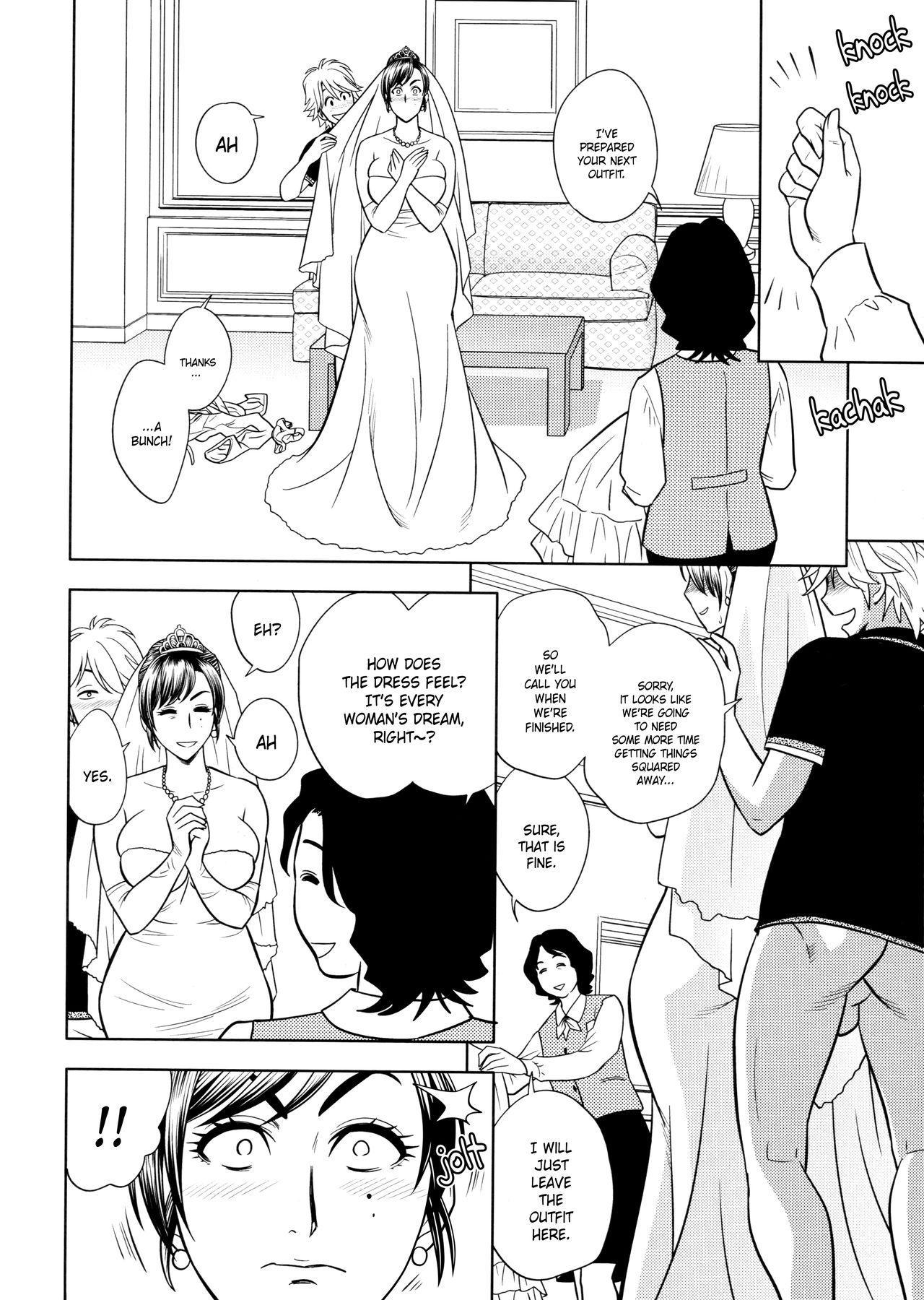 [Tatsunami Youtoku, Yamazaki Masato] Bijin Henshuu-chou no Himitsu | Beautiful Editor-in-Chief's Secret Ch. 1-5 [English] [Forbiddenfetish77, Red Vodka, Crystalium] [Decensored] 93