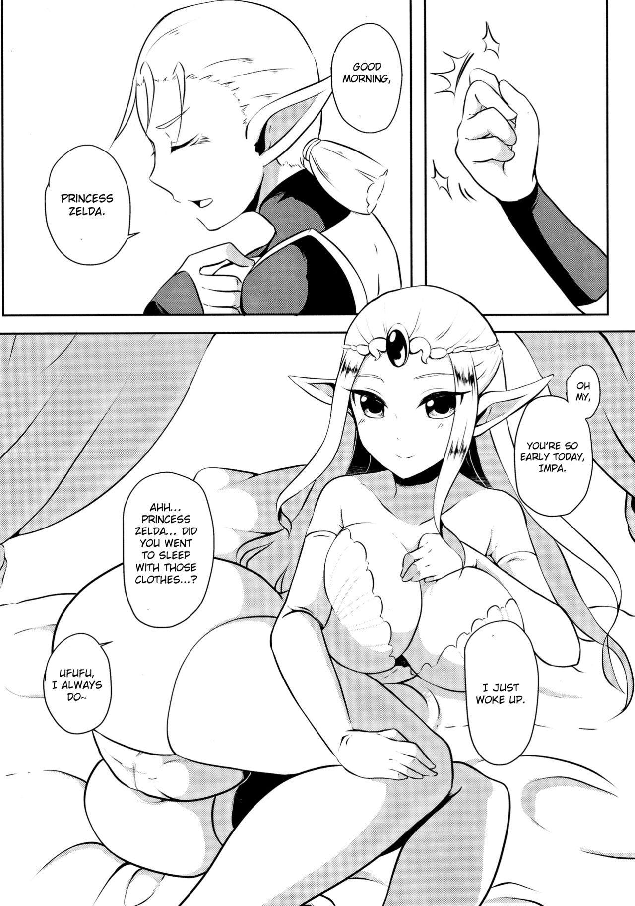 Toki Mawari 1.5 - TokiOca Zelda Hime ga Synchro Shite Futanari ni Nacchatta 3