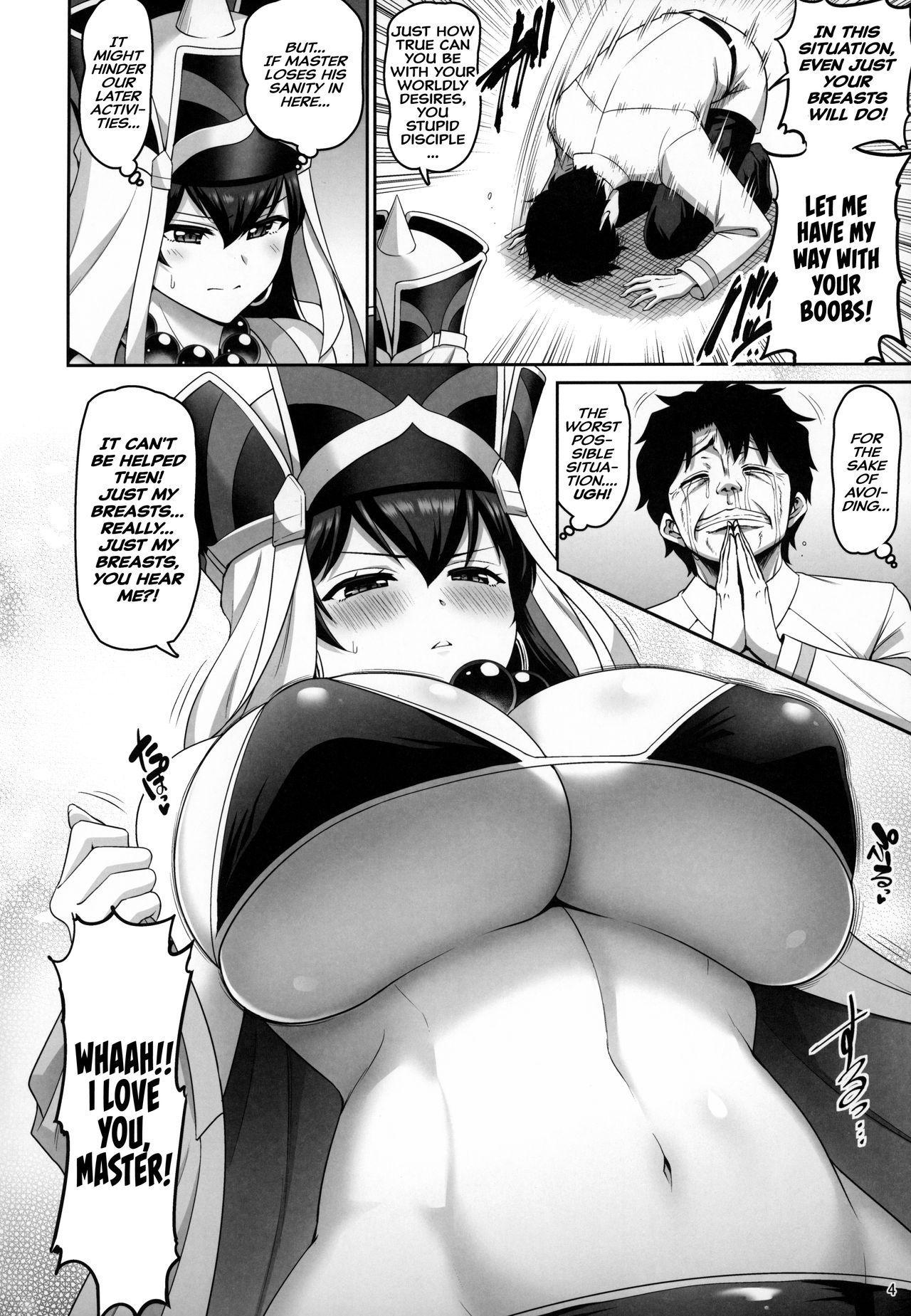 (C96) [Urasazan (Minamino Sazan)] Sanzou-chan no Chichi o Okashimakuru Hon   A Book Where Sanzou-chan's Tits Are Totally Violated (Fate/Grand Order) [English] [Hive-san] 2