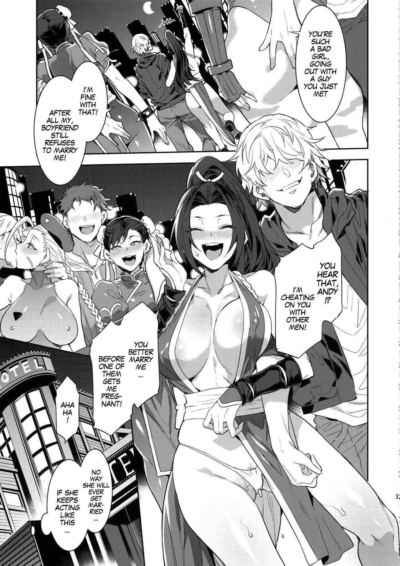 Kakutou Musume Yarimoku Goukon   Casual Sex Party With Fighting Game Gals 31