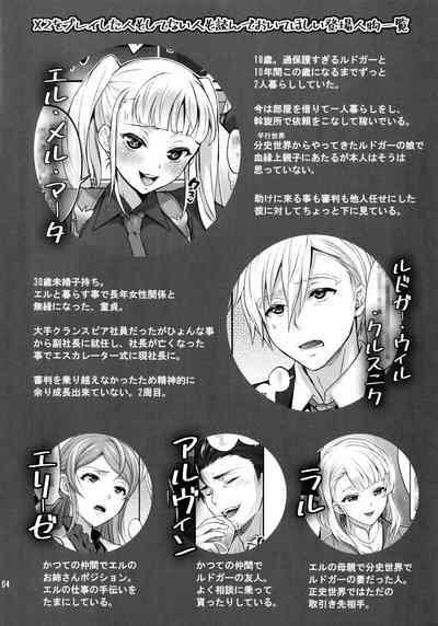 Otona ni Natte mo Kawarazu Futanari Elle ni Furimawasareru! 2
