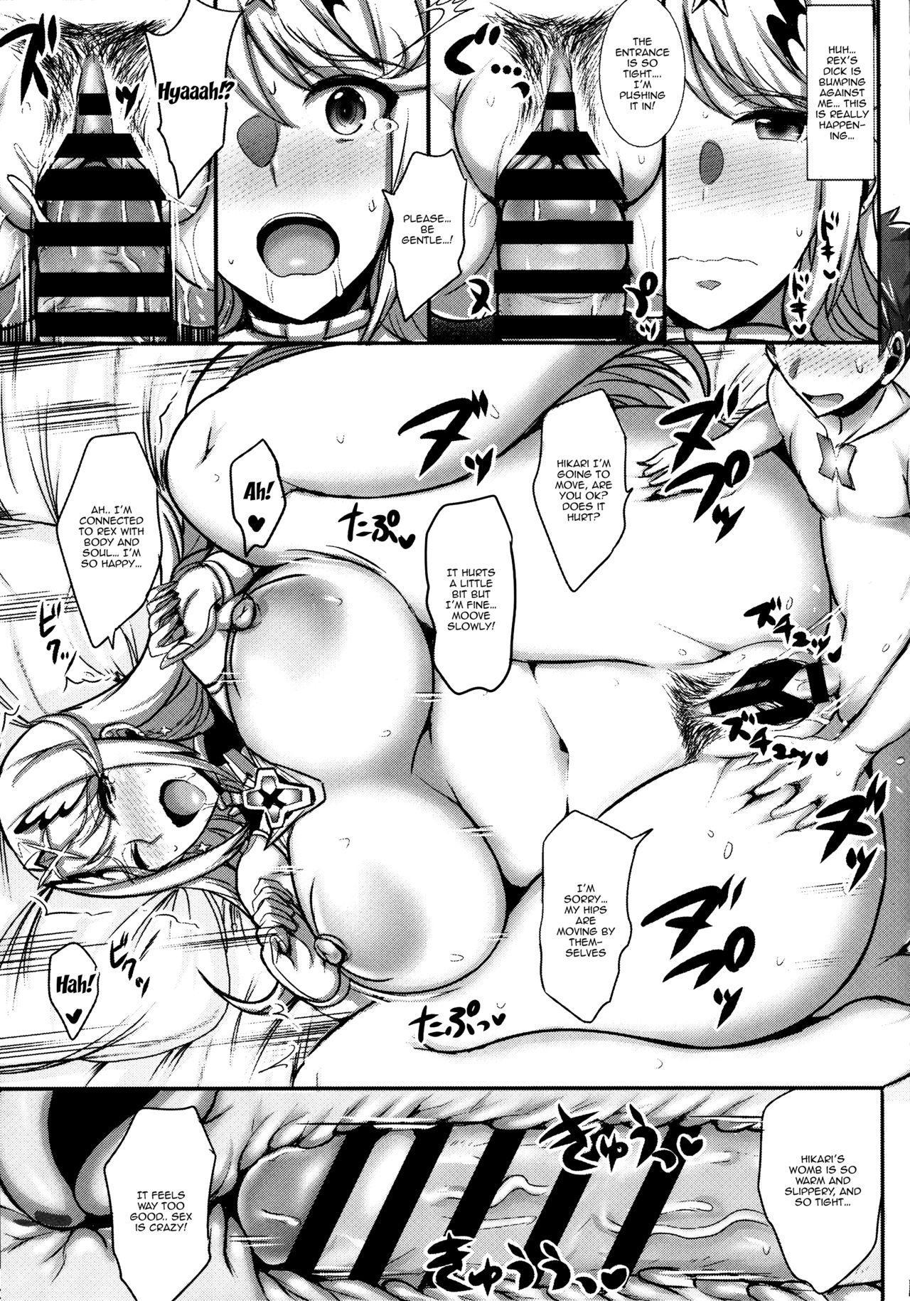 (C94) [Yuasa Rengou (Jean Louis)] Hikari-chan ga Oshiete Ageru   Hikari-chan Will Teach You (Xenoblade Chronicles 2) [English] {Doujins.com} 11