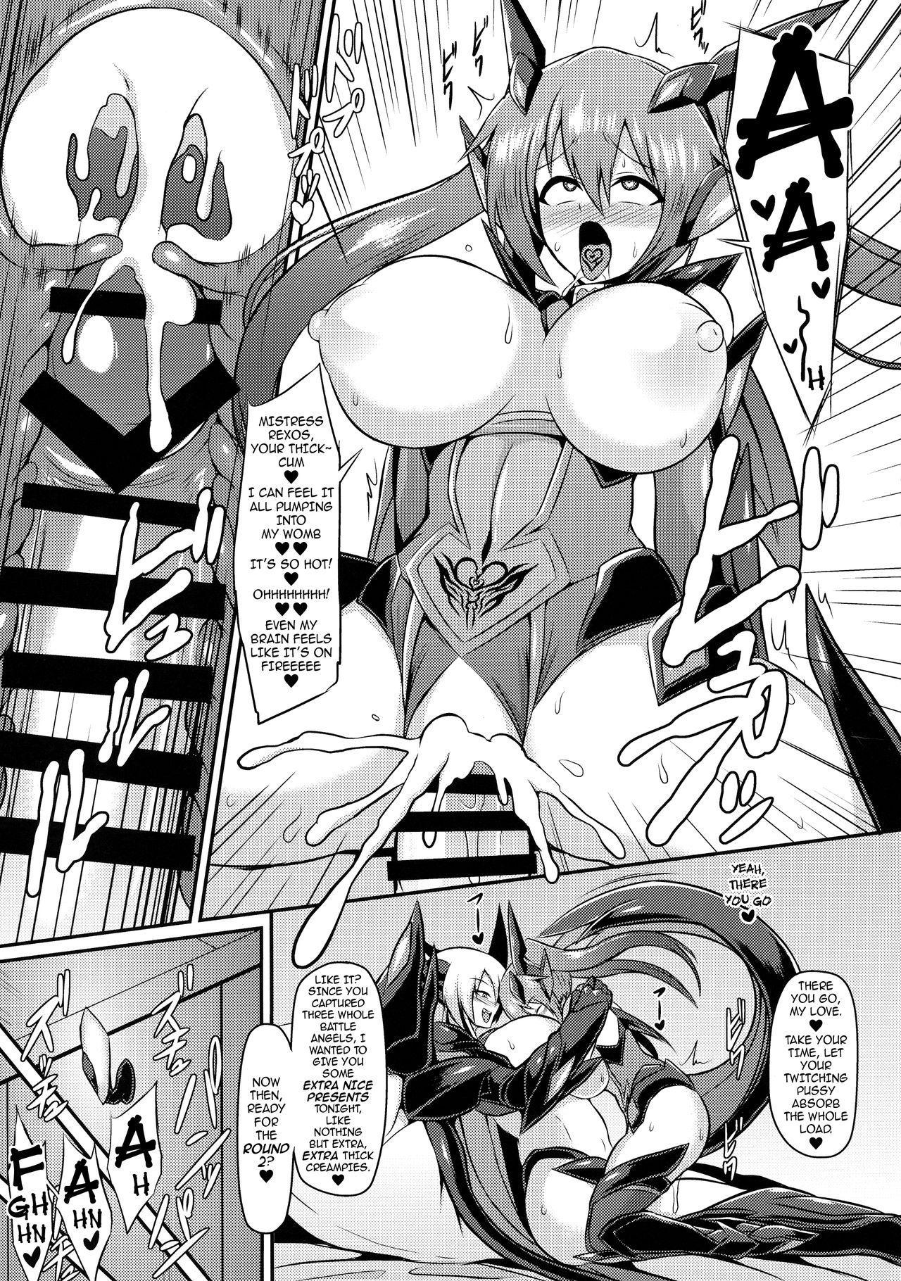 (C94) [Ikameshi Shokudou (Ikameshi)] Seisenki Iris 3 ~Inbinaru Shuuen~ | Battle Angel Iris 3 ~The End of Purity~ [English] {darknight} 10