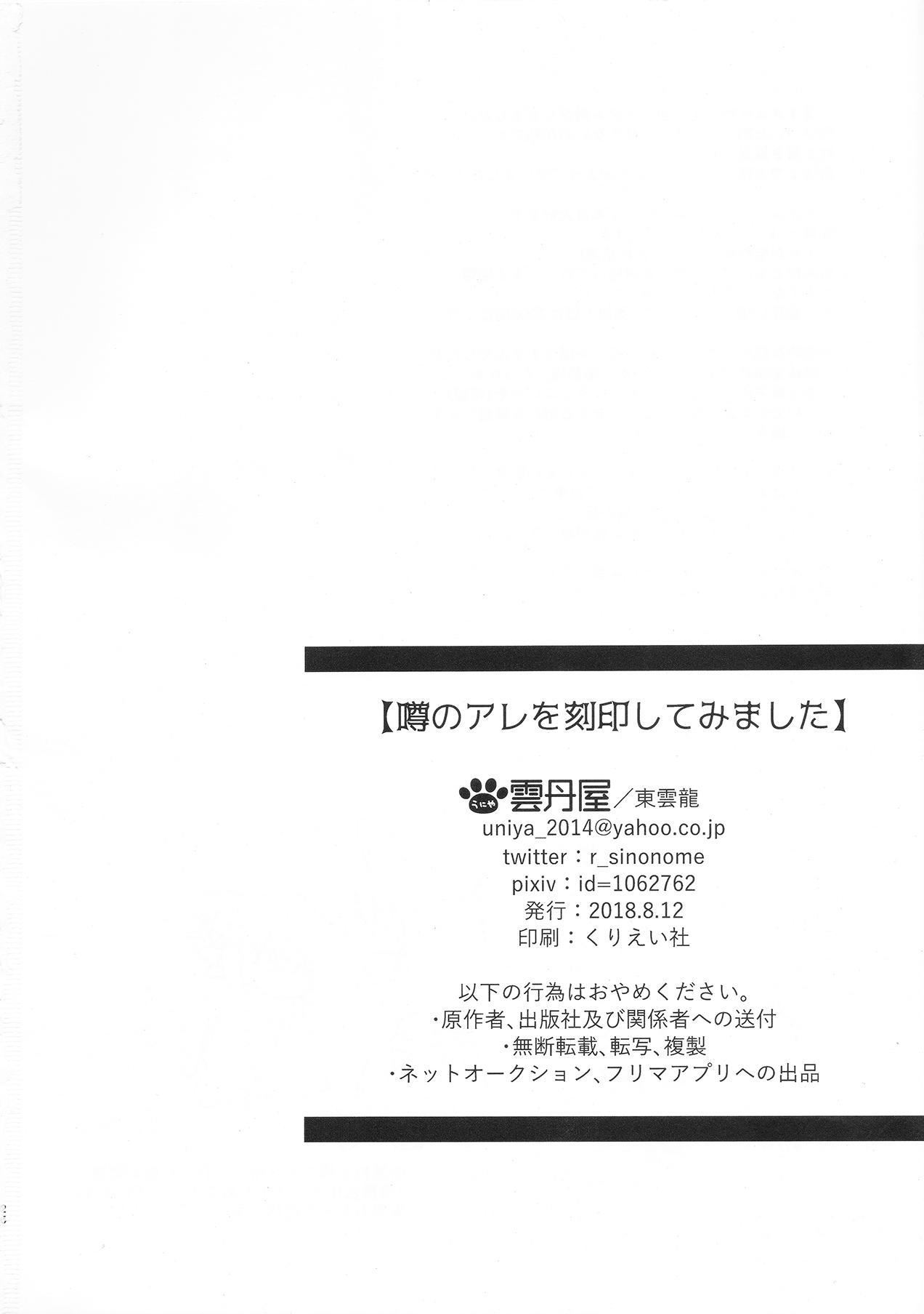 Uwasa no Are o Kokuin Shite Mimashita 26