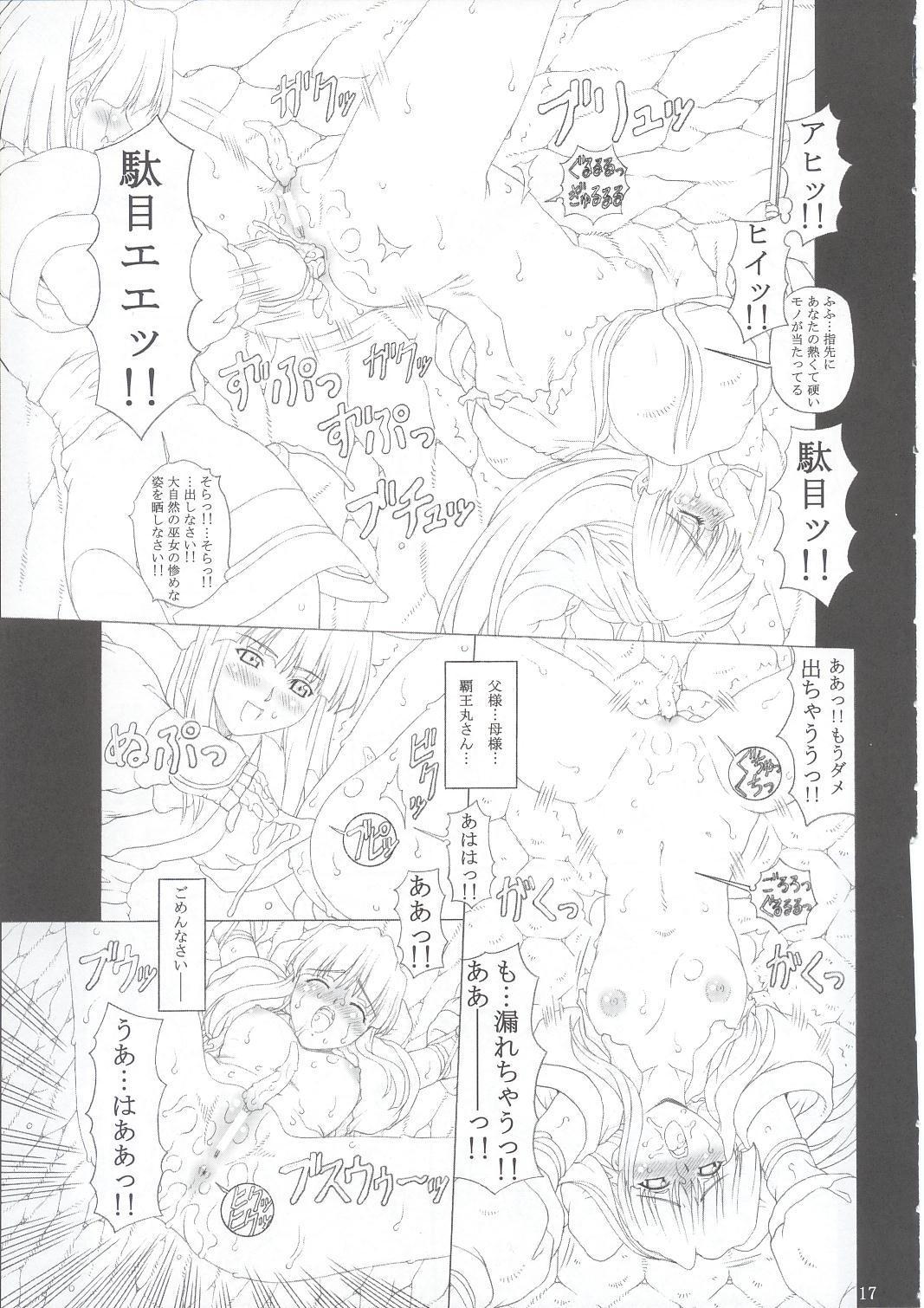 JUNK Dain no Miko San 15