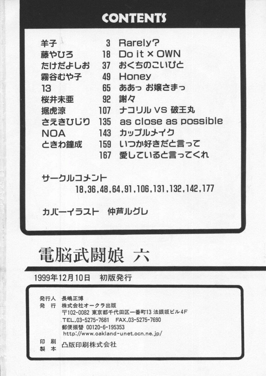 Dennou Butou Musume Vol 6 178