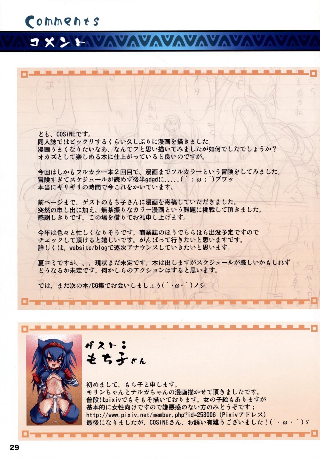 Monster Hunter Futanari Drill 27