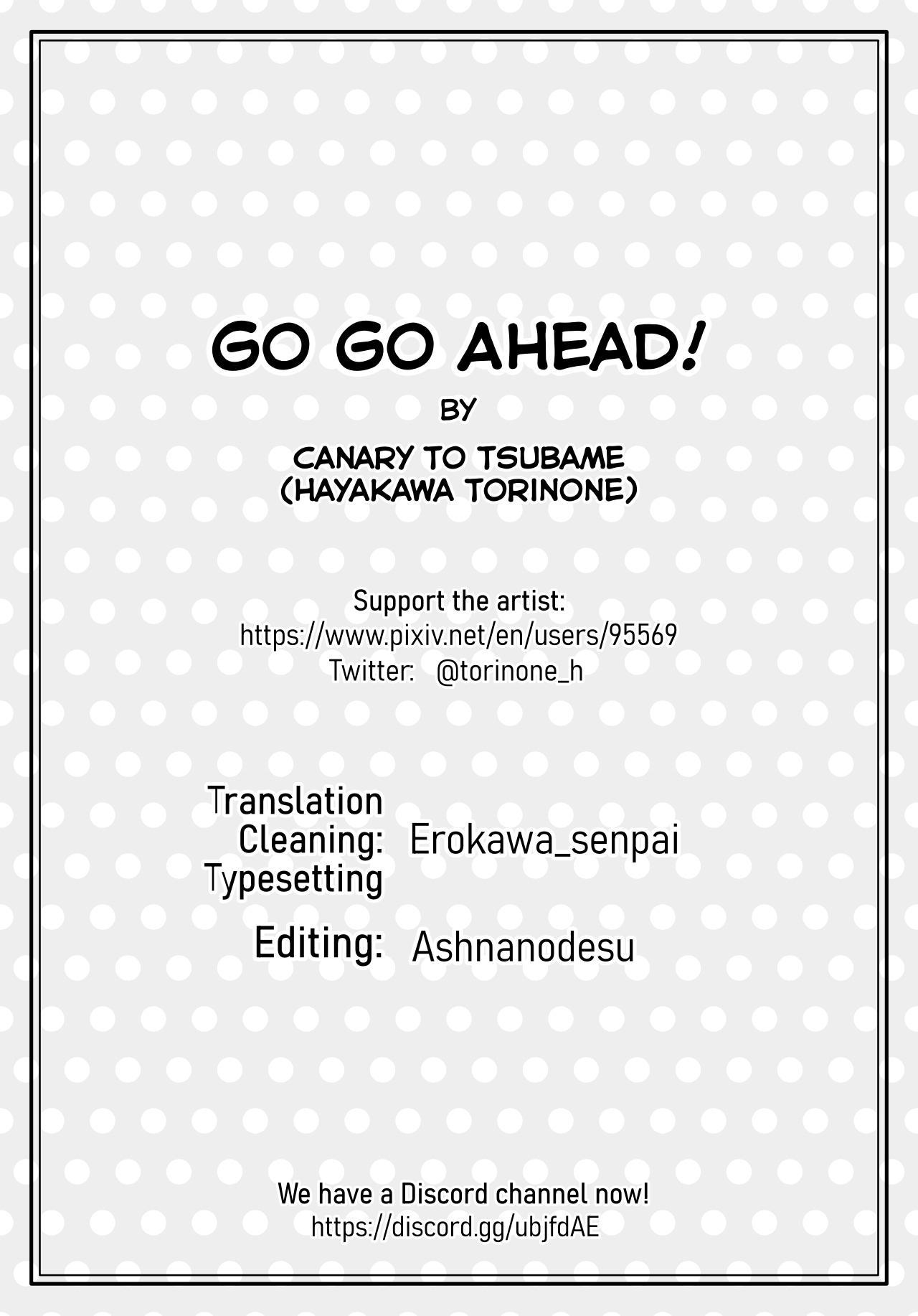 Go Go Ahead! 28