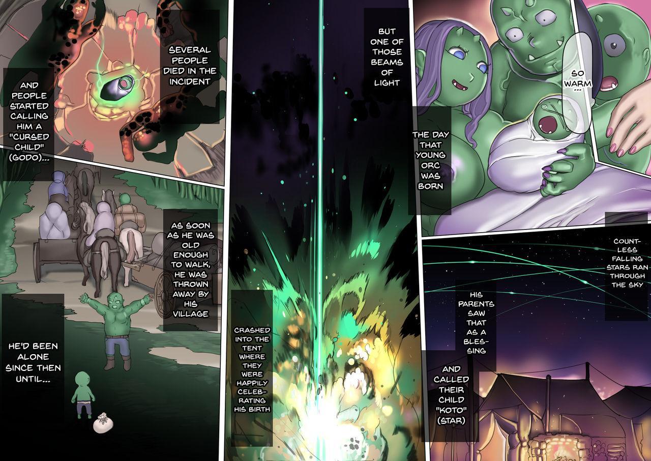 [pinkjoe] Mamono no Monogatari ~Orc no Shounen Godo~ | Story of a Monster ~Orc Boy Godo~ [English] {Doujins.com} 12