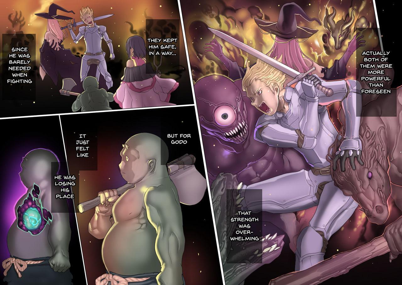 [pinkjoe] Mamono no Monogatari ~Orc no Shounen Godo~ | Story of a Monster ~Orc Boy Godo~ [English] {Doujins.com} 34