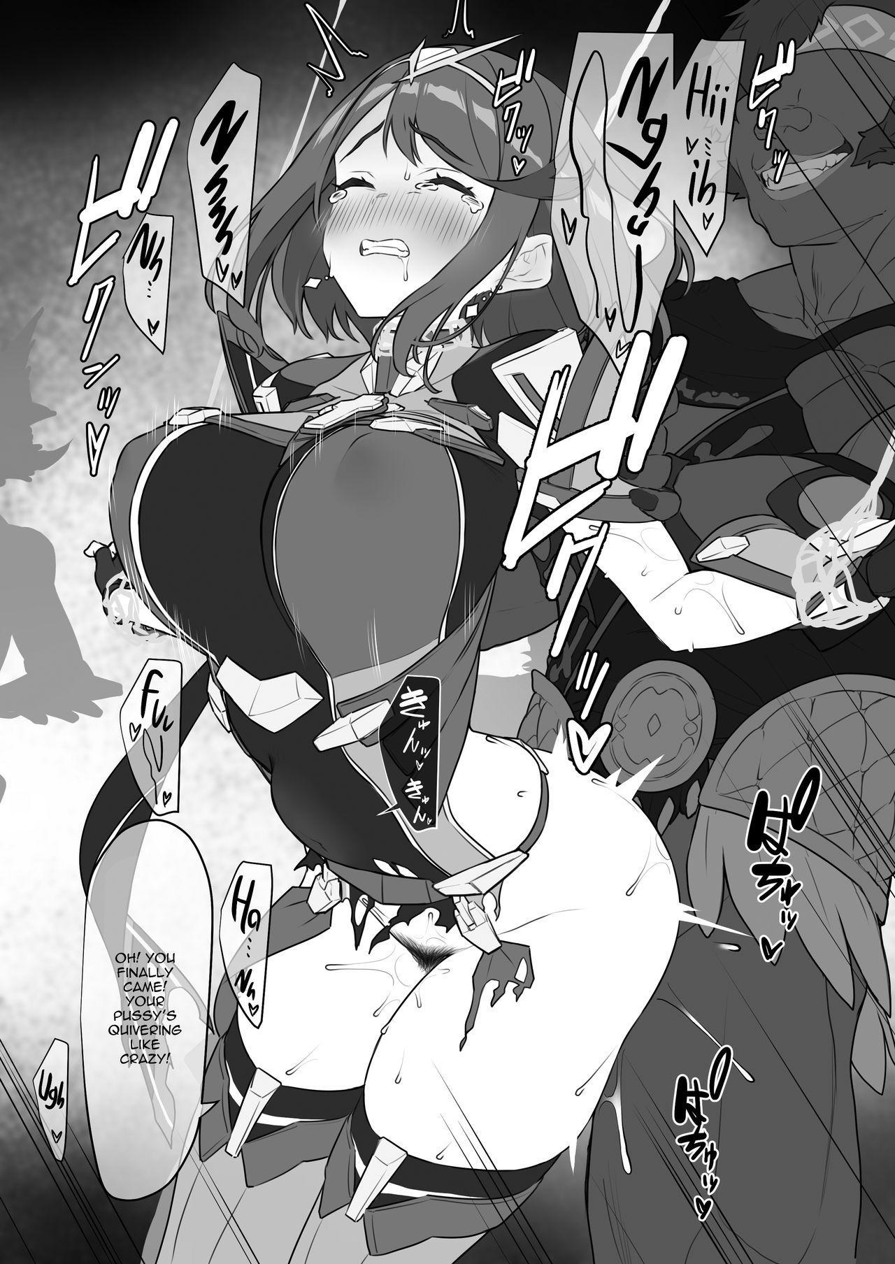 Homura-chan no Junan | Pyra's Suffering 22