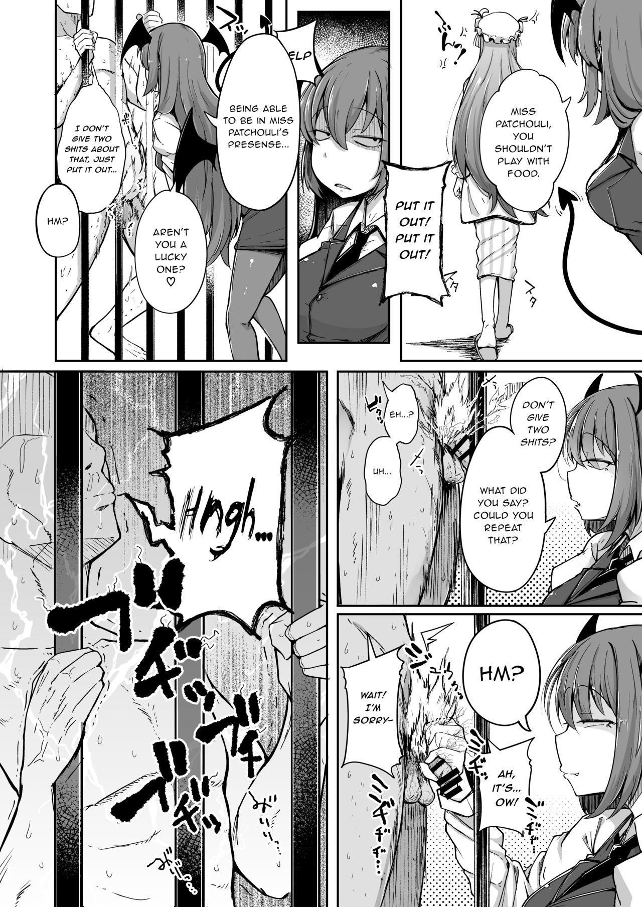 Ana to Muttsuri Dosukebe Daitoshokan 2 13