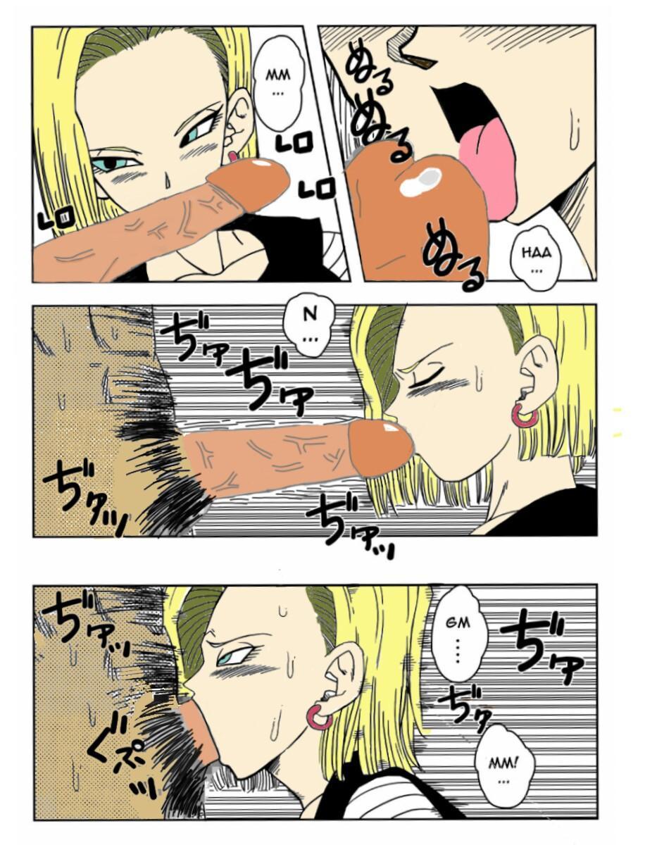 18-gou to Mister Satan!! Seiteki Sentou! | Android N18 and Mr. Satan!! Sexual Intercourse Between Fighters! 6