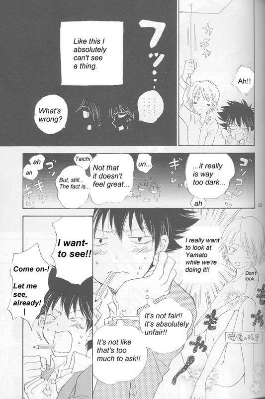 [Gekkou Touzoku (Nobi Nobita)] Bedroom kara Ai o Komete (Digimon Adventure 02) [English} 21