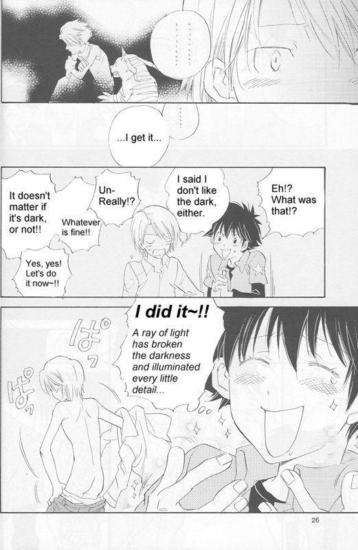 [Gekkou Touzoku (Nobi Nobita)] Bedroom kara Ai o Komete (Digimon Adventure 02) [English} 24