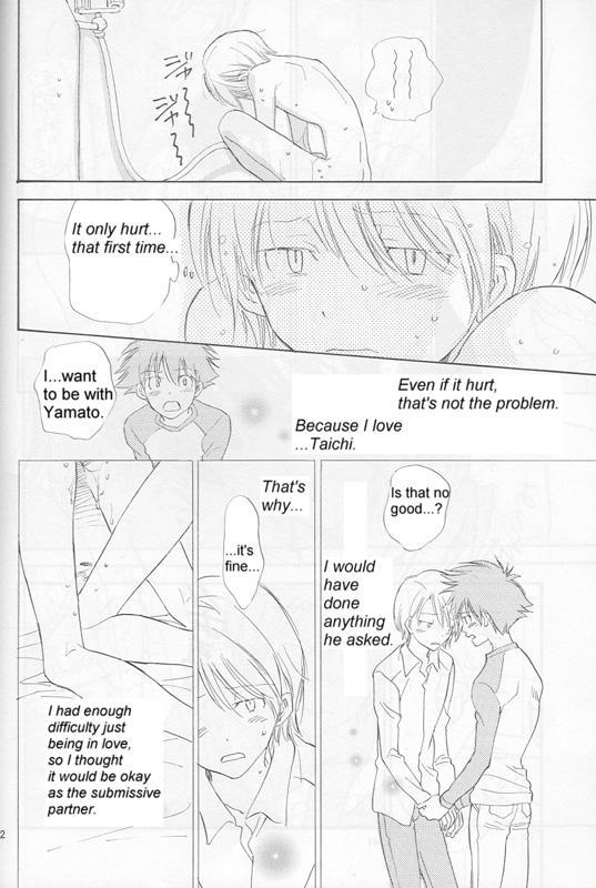 [Gekkou Touzoku (Nobi Nobita)] Bedroom kara Ai o Komete (Digimon Adventure 02) [English} 40