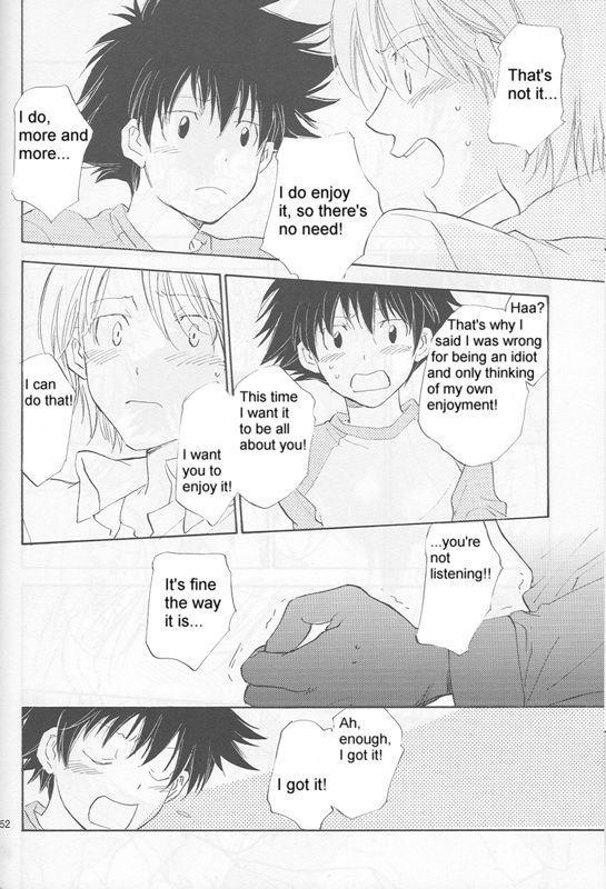 [Gekkou Touzoku (Nobi Nobita)] Bedroom kara Ai o Komete (Digimon Adventure 02) [English} 49