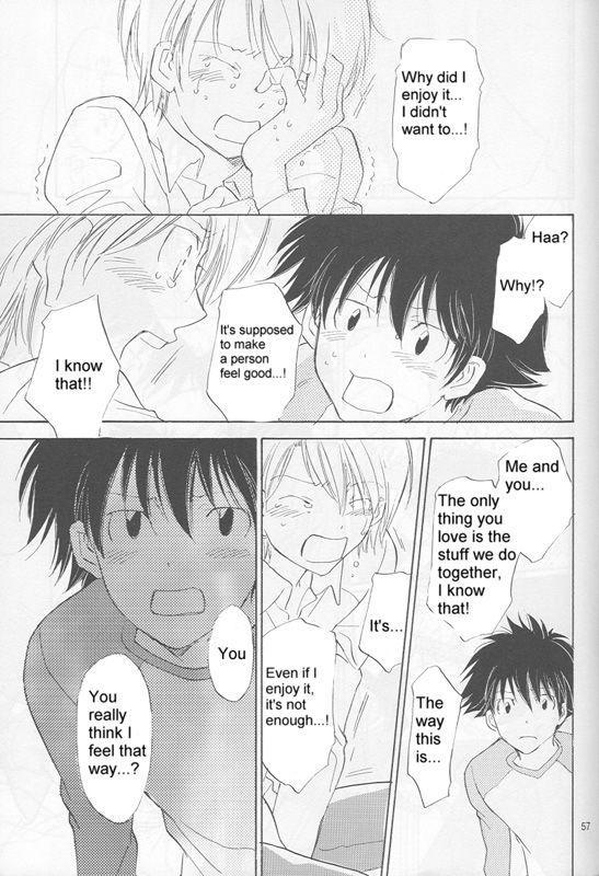 [Gekkou Touzoku (Nobi Nobita)] Bedroom kara Ai o Komete (Digimon Adventure 02) [English} 54