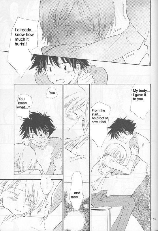 [Gekkou Touzoku (Nobi Nobita)] Bedroom kara Ai o Komete (Digimon Adventure 02) [English} 56