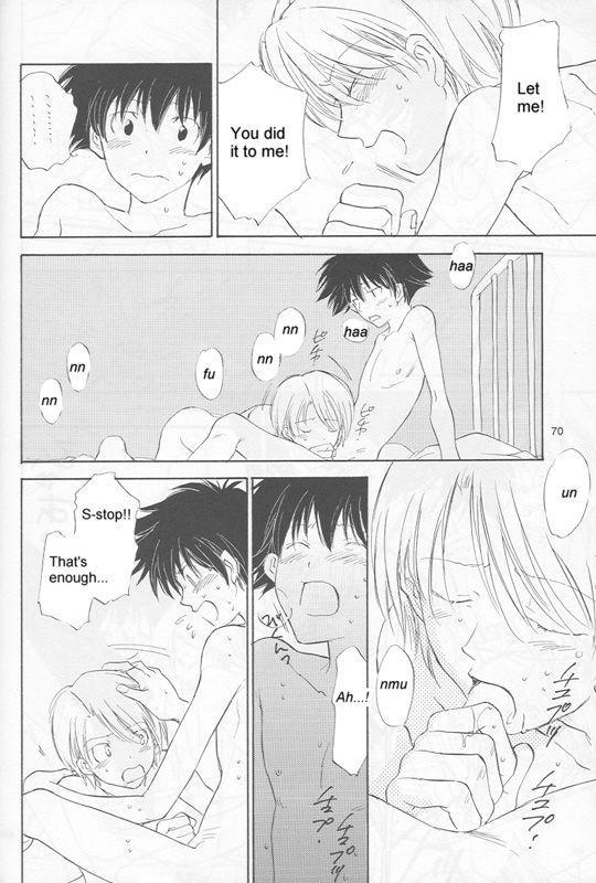 [Gekkou Touzoku (Nobi Nobita)] Bedroom kara Ai o Komete (Digimon Adventure 02) [English} 67