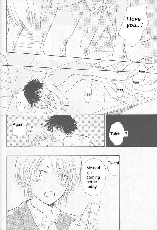 [Gekkou Touzoku (Nobi Nobita)] Bedroom kara Ai o Komete (Digimon Adventure 02) [English} 71