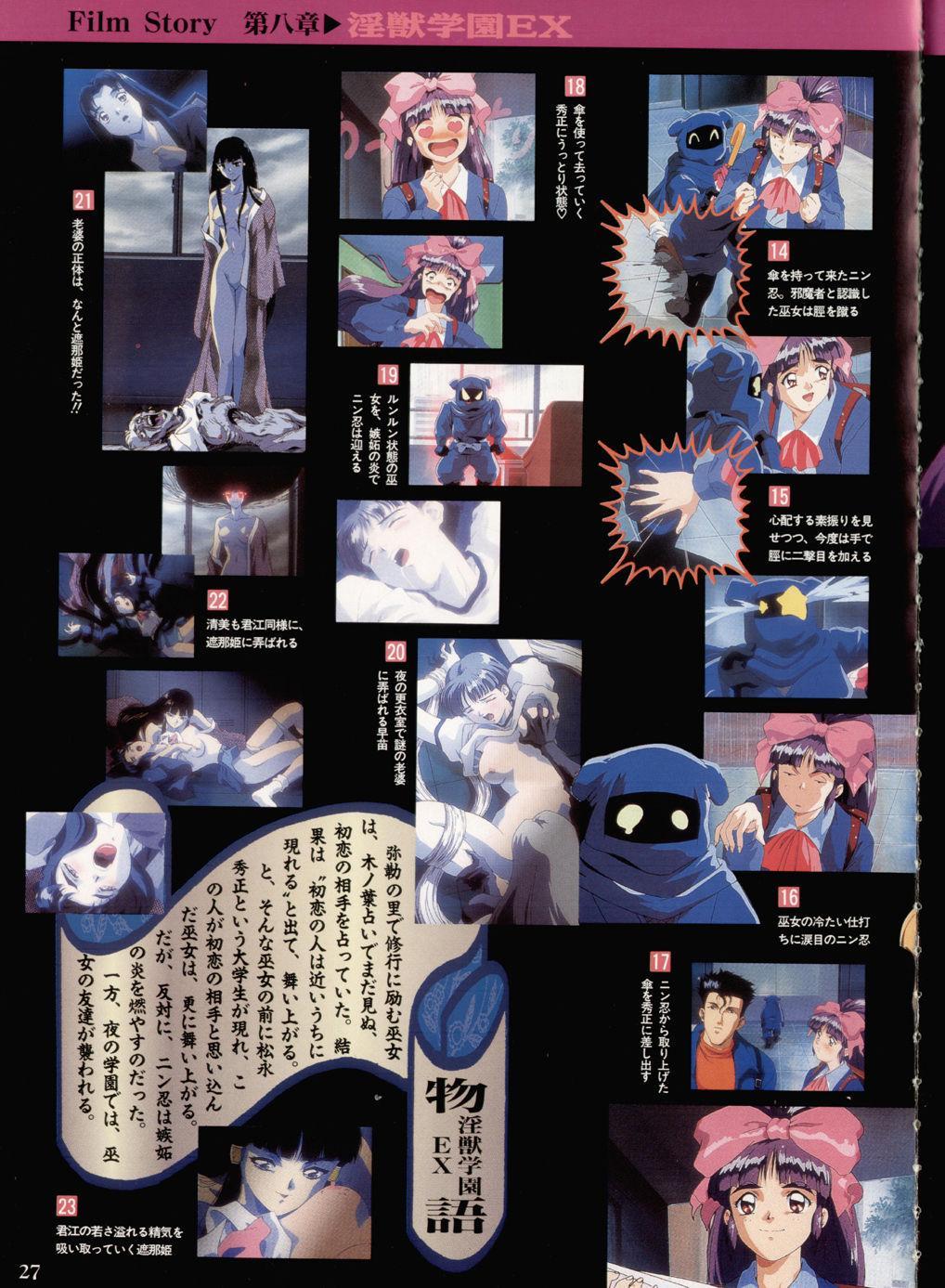 Injuu Gakuen You no Shou Secret File 22