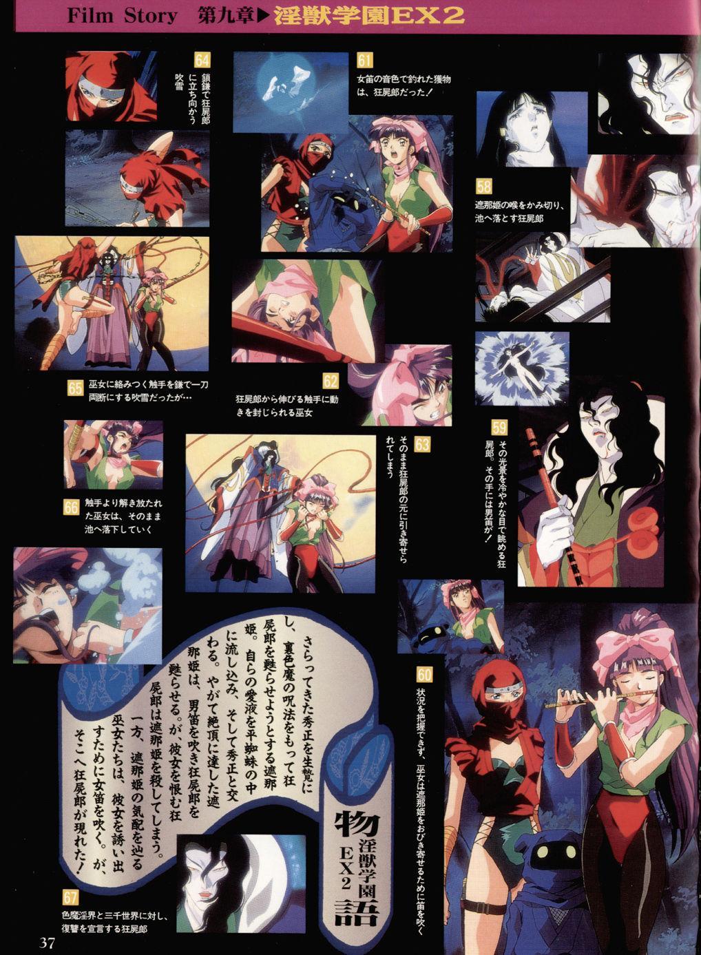 Injuu Gakuen You no Shou Secret File 32