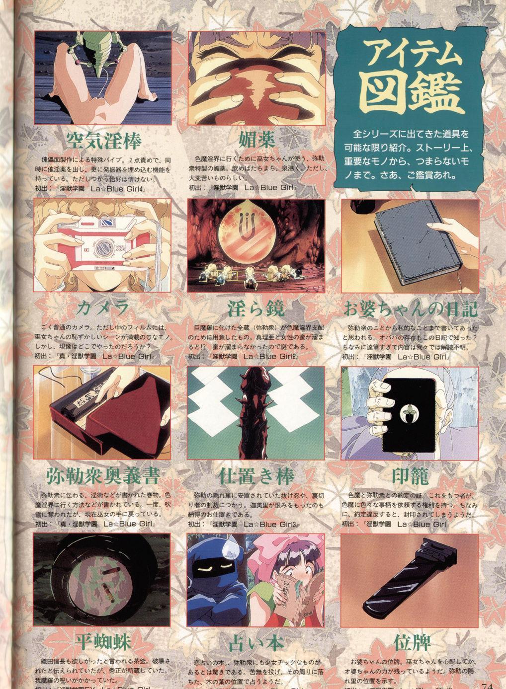 Injuu Gakuen You no Shou Secret File 69